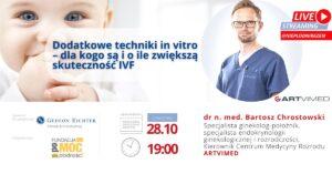 """Webinar """"Dodatkowe techniki in vitro"""""""